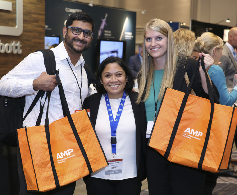 Chicago Convention Photography of diverse attendees at AMP Clinical Meeting