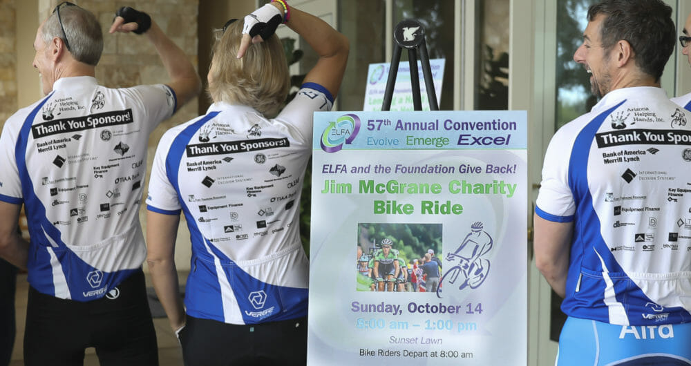 Convention Photography of bike riders at Conference event in Orlando FL