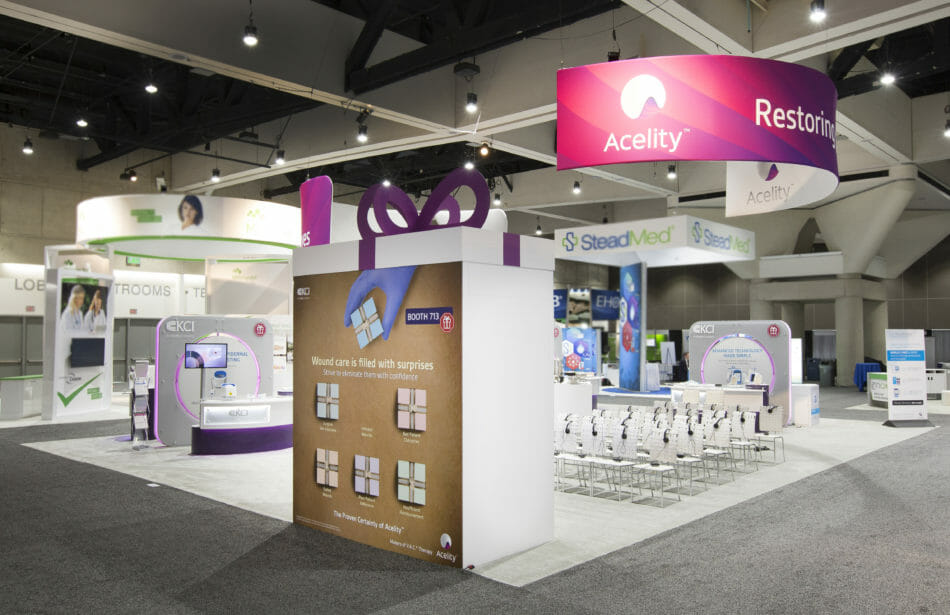 Exhibitor Booth Photography for Acelity Booth