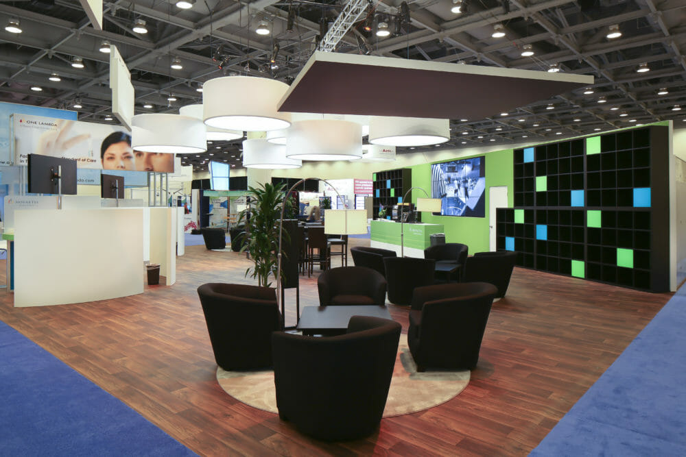 Exhibitor Booth Photography of World Congress elements