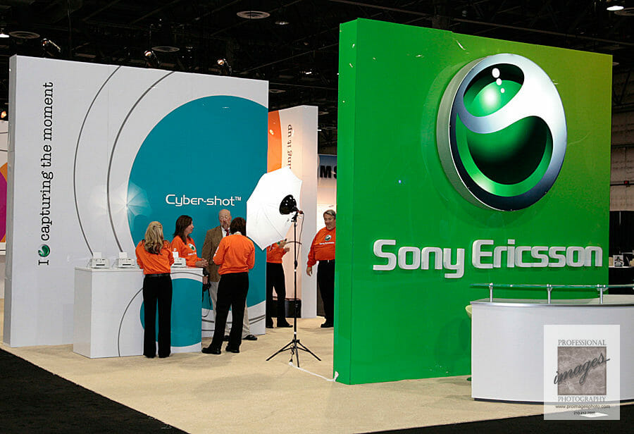 Onsite Printing and social media station photography for Sony Brand