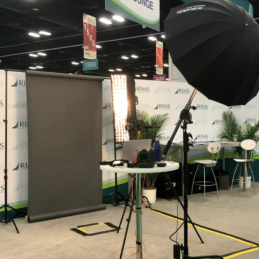 Headshot Station Photography for Conventions and Conferences