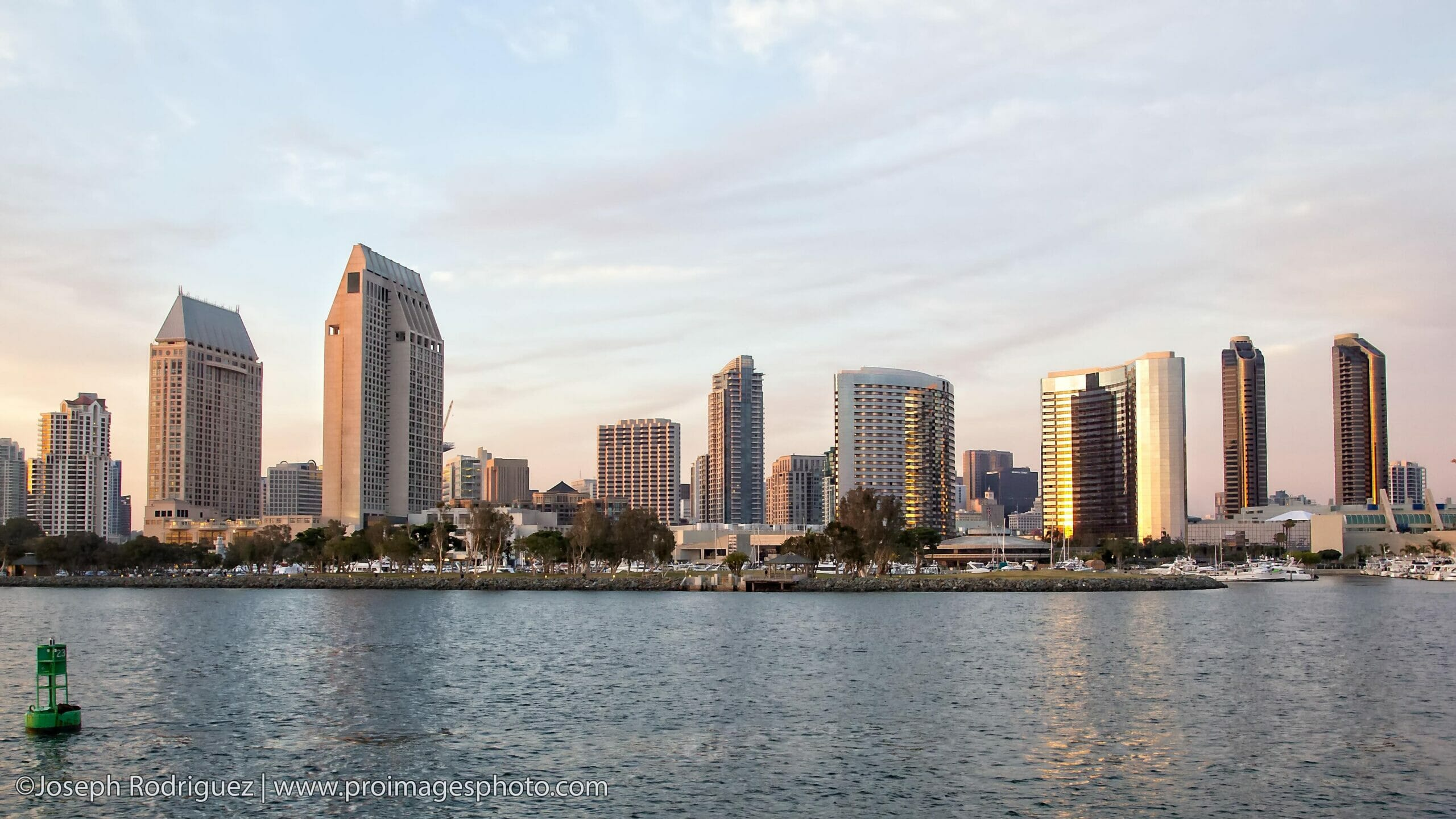 San Diego Harbor Skyline and Convention Photography