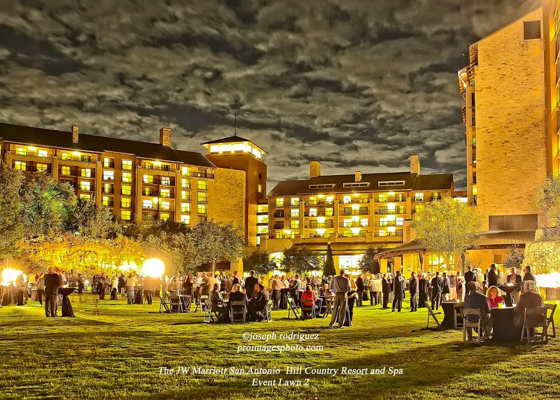 Photography of Event at the JW Marriott San Antonio Hill Country Resort and Spa on the Lawn.