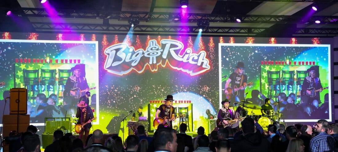 Event Photography of Big and Rich Band playing at Thomson Reuters ©Joseph Rodriguez | Proimagesphoto.com