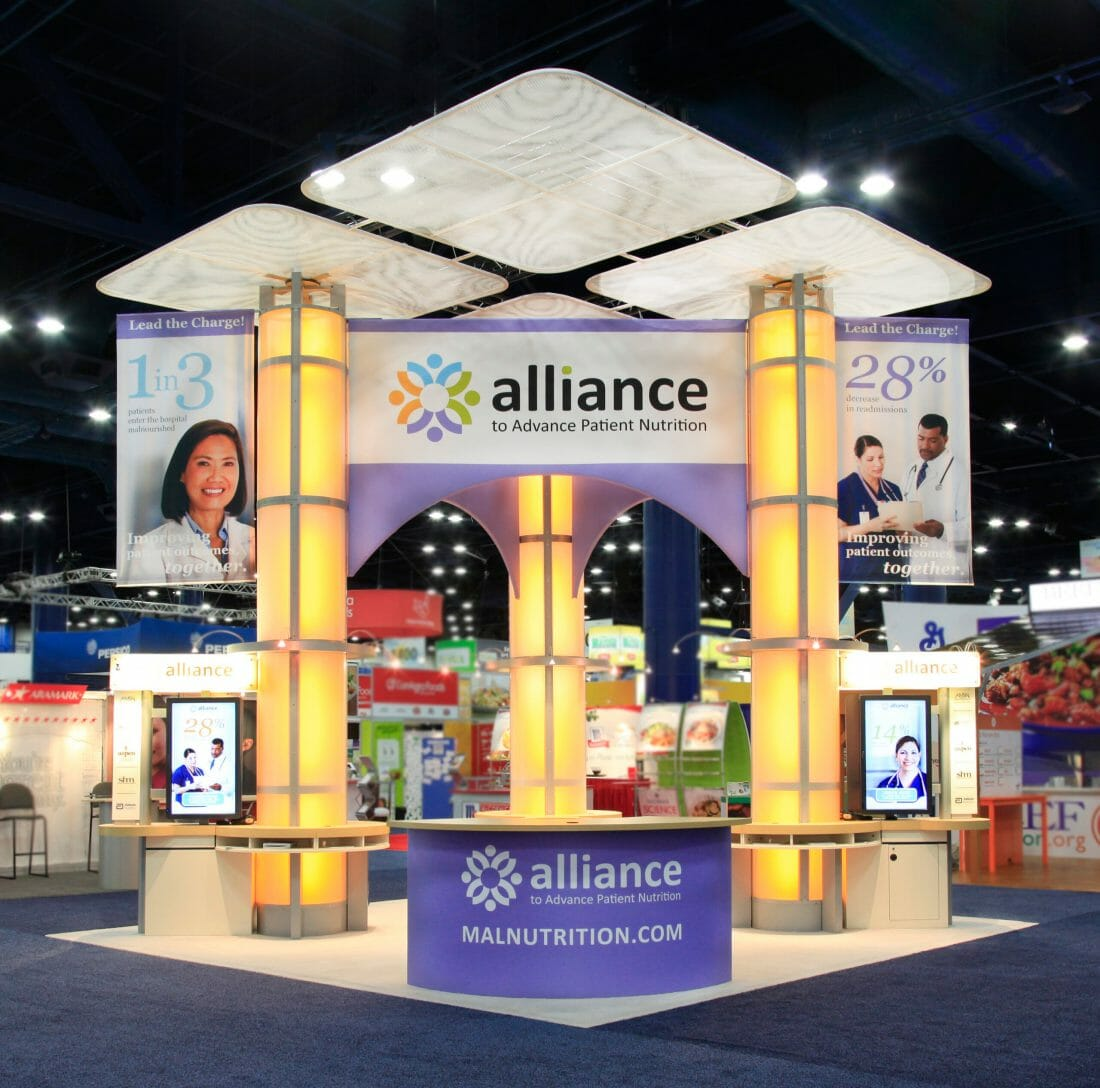 Booth Photography for Abbott Nutrution for Exhibit Concepts