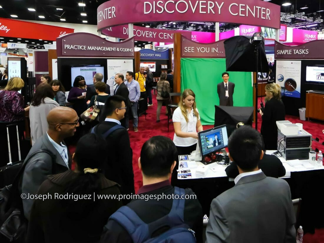 San Antonio Green Screen Photography for Tradeshows and Exhibitor Booths