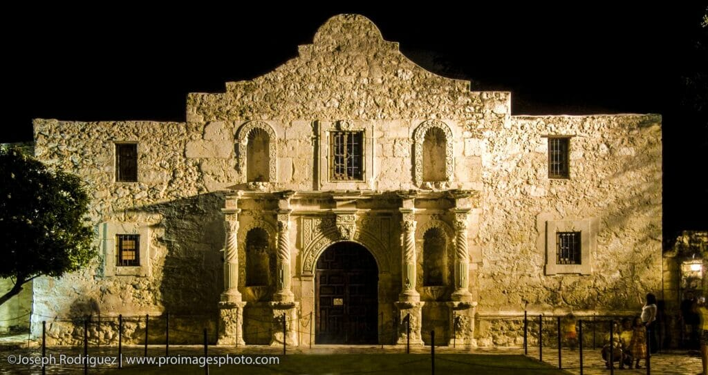 The Alamo in San Antonio TX. Photographed by Joseph Rodriguez | Professional Images Photography