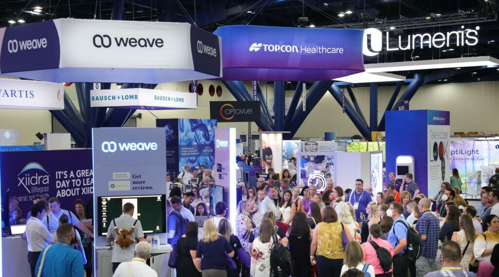 Tradeshow floor photography at George R Brown Convention Center